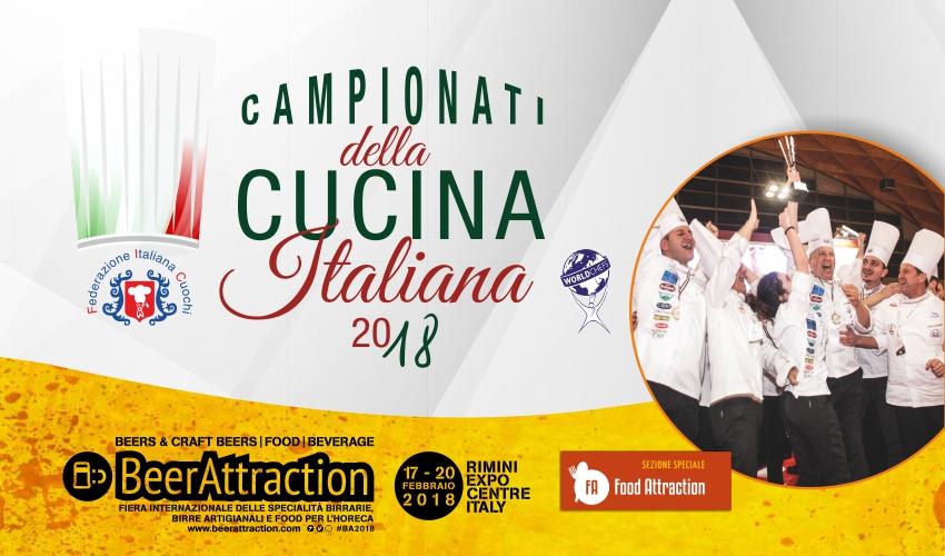 Campionati della Cucina Italiana 2018 - terza edizione